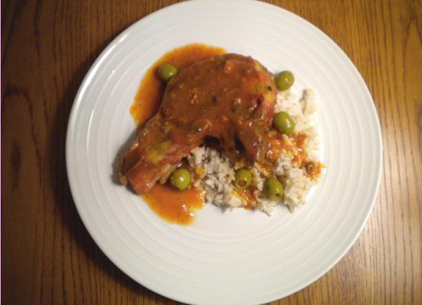 Cuban Slow-Cooker Pork Chops