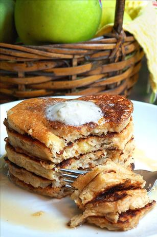 Apple-Pecan Pancakes