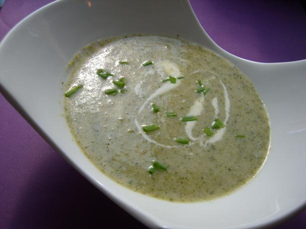 Broccoli-Mascarpone Soup
