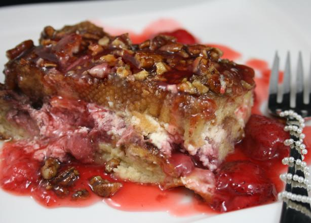 Lorilyn's Baked Strawberry French Toast