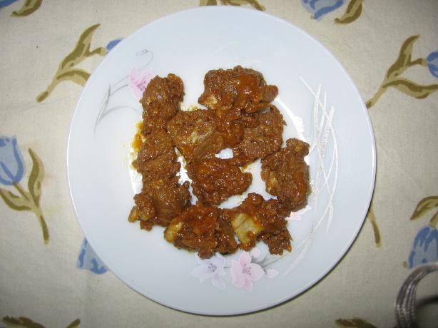 Beef Sukka/ Lamb Bhunna