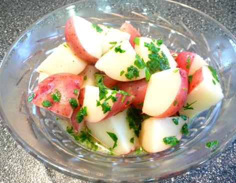 Lemon Parsley Potatoes