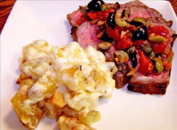 Easy Steak Provencale