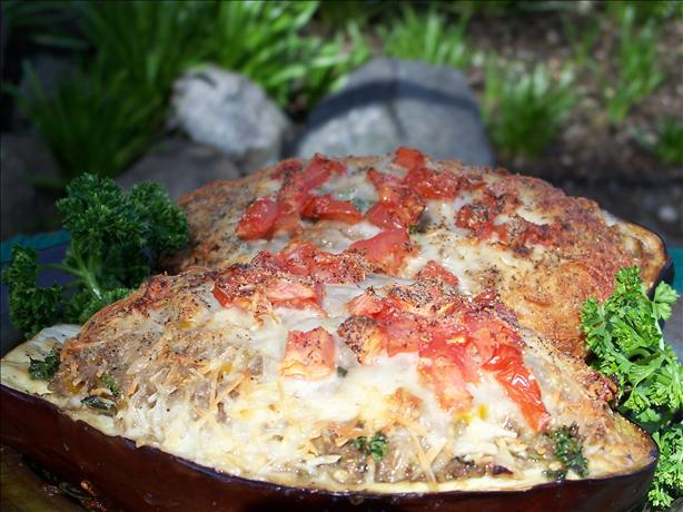 Mom's Stuffed Eggplant (By Michael Chiarello)