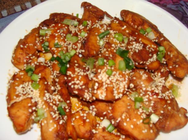 Sticky Sesame Chicken Tenders