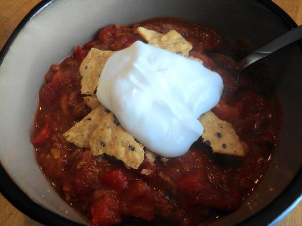 Kristin's Chili