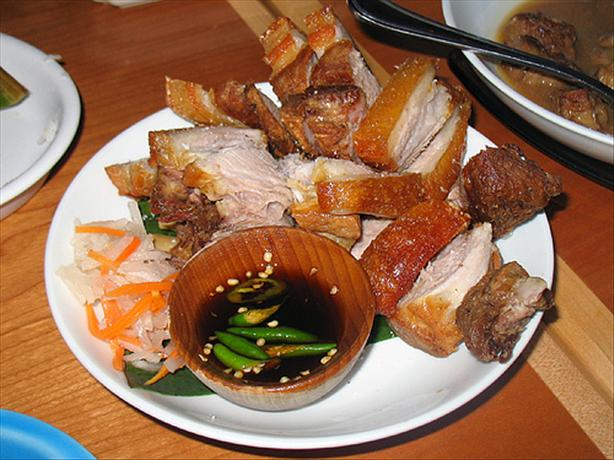 Lechon Kawali (Crispy Pan-Fried Roasted Pork)