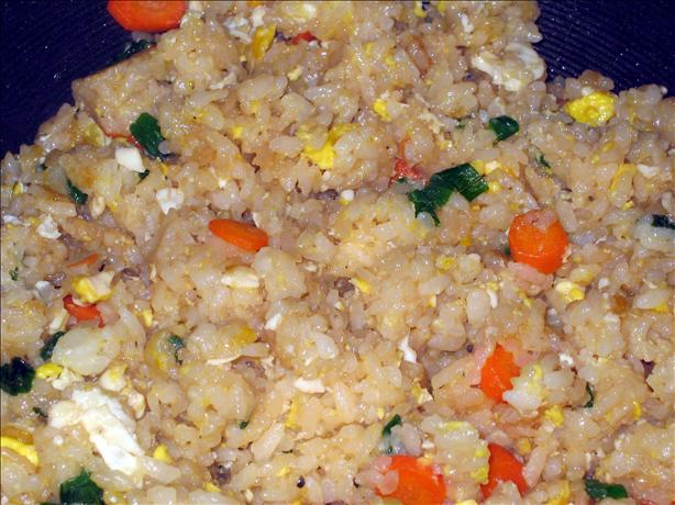 Fried Rice With 5-Spice Bacon