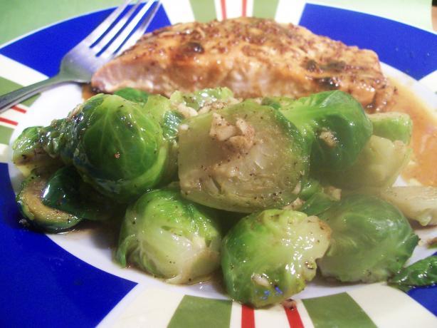 Brussels Sprouts With Balsamic Vinaigrette