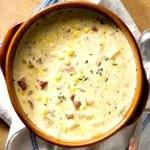 Hearty Corn Chowder With Peas