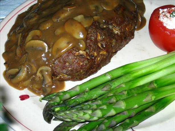 Meatloaves With Mushroom Sauce