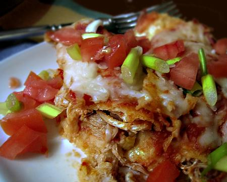 Italian Chicken Enchiladas