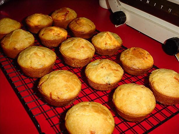 Cheesy Corn Jalapeno Muffins
