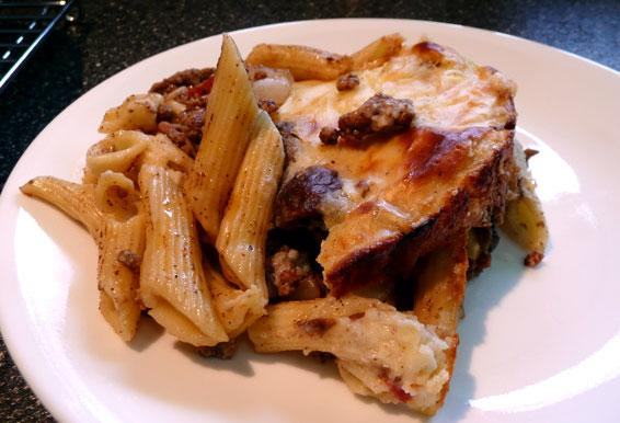 Low Fat Pastitsio