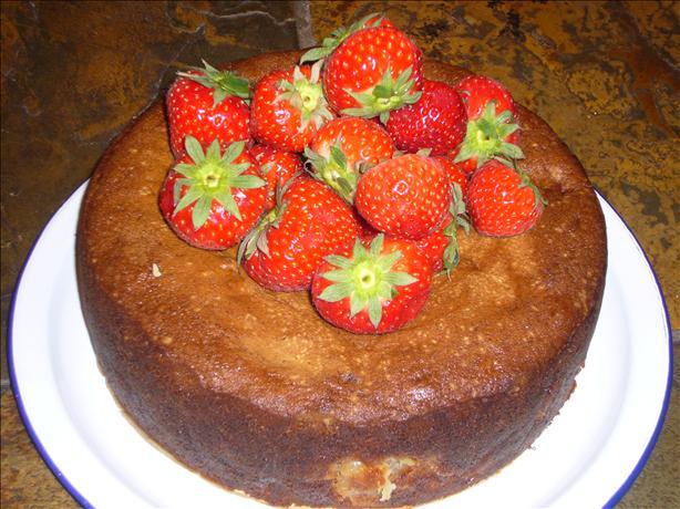 Rhubarb or Apple Cake