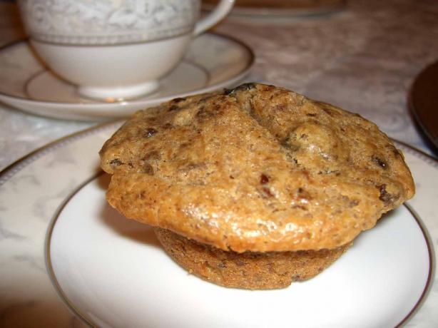 Rum Glazed Mincemeat Muffins