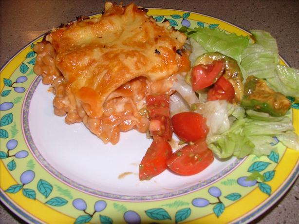 Baked Bean Lasagna