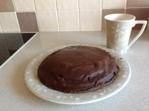 Gigantic Jaffa Cake