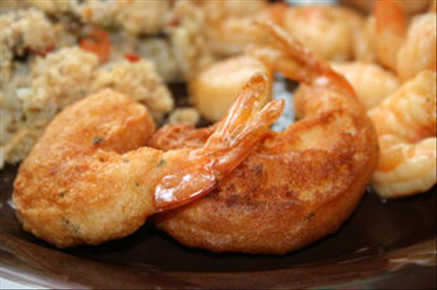 Wine Battered Shrimp