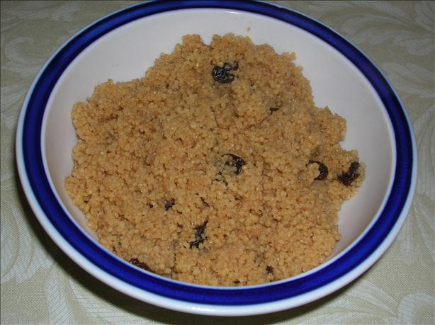 Sweet Breakfast Couscous