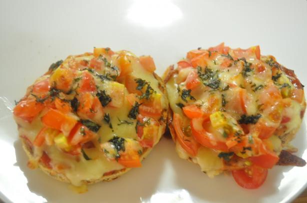 Tomato Basil Pizza Snack