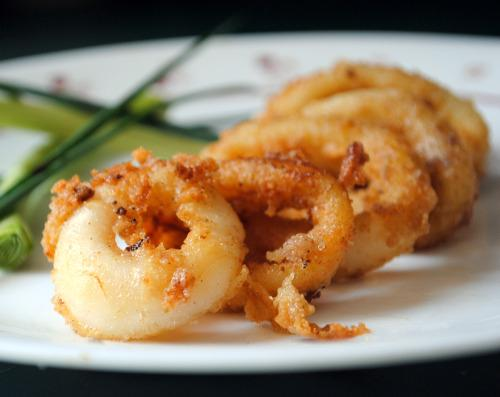 Marinated Calamari