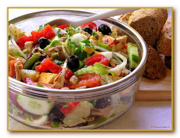 Mediterranean Salad / Salade Nicoise