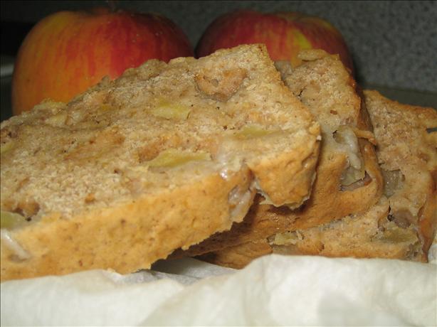 Lower Fat Apple Bread