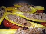 West Indies Savory Stuffed Summer Squash