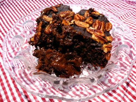 Low Fat Chocolate-Fudge Pudding Cake