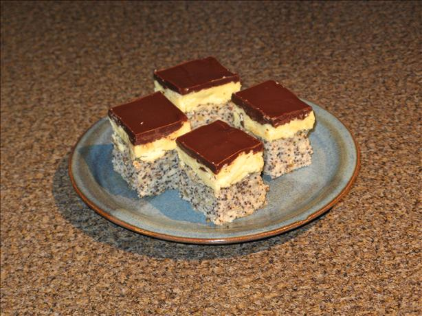 Poppy Seed Squares