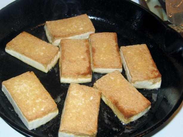 The Best Pan-Fried Tofu