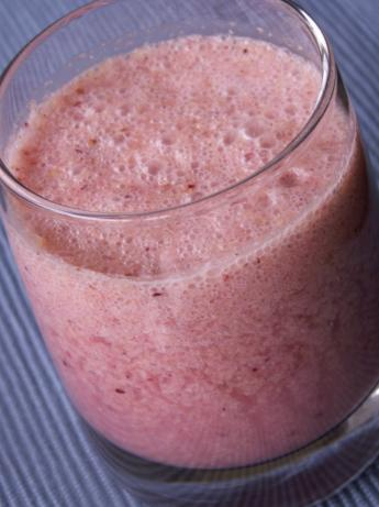 Cranberry Orange Smoothie (Raw Food)