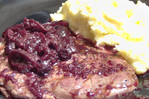 Rib Eye on a Bed of Mascarpone Potato Puree