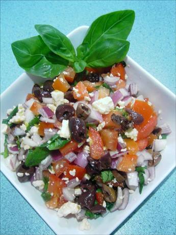 Tomato Basil & Feta Salad