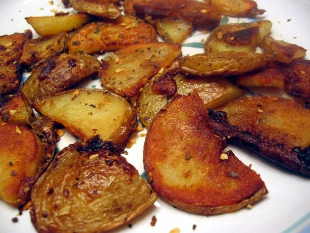 Kittencal's Crispy Skillet Potatoes
