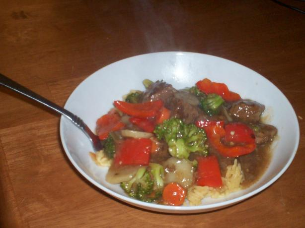Gingered Beef Vegetable Stew