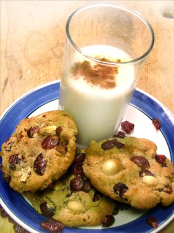 Rum-Drunk Cranberry Hazelnut Cookies