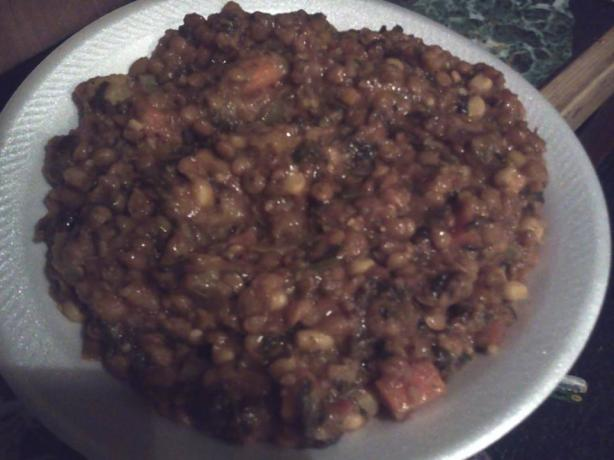 Vegetable-Lentil Stew