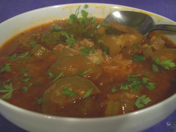 Zucchini Gumbo (Crock-Pot)