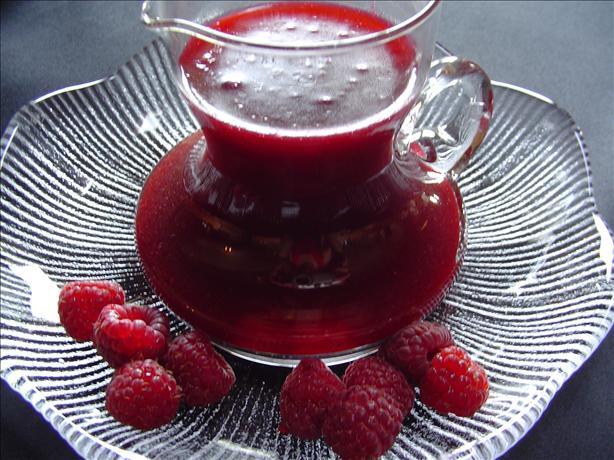 Raspberry Orange Sauce