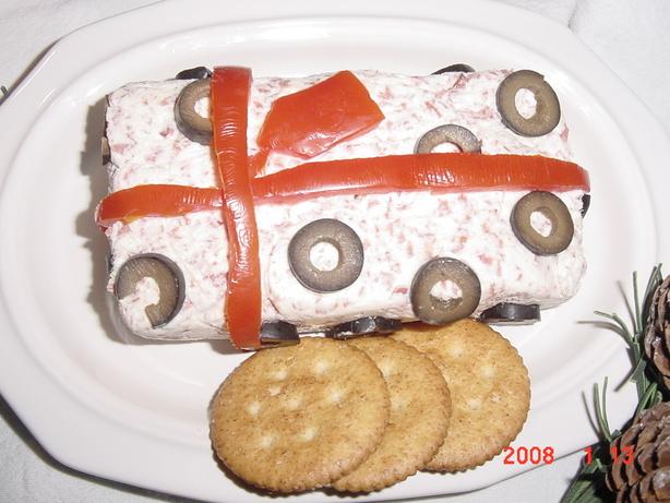 """cheesy Gift"" Festive Appetizer"