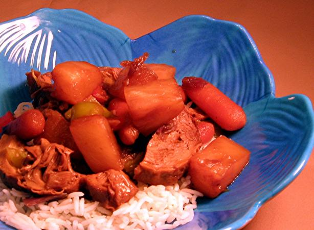 Sweet and Sour Crock-Pot Seitan