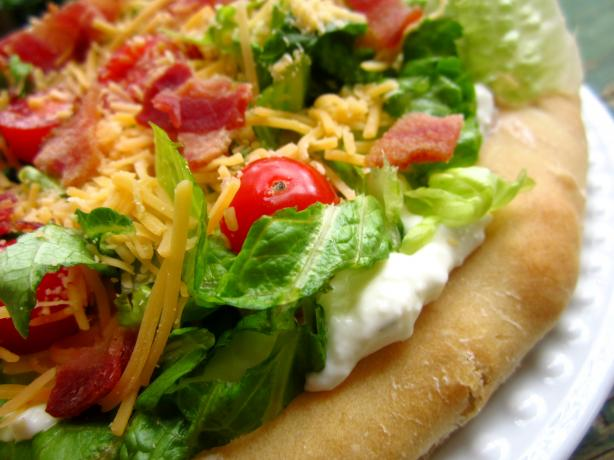BLT Ranch Salad Pizza-Pampered Chef