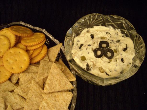 I Love Olives and Cream Cheese Spread