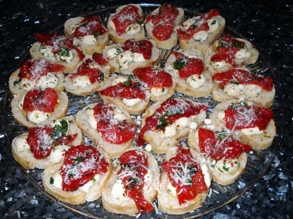 Mozzarella Bruchettas
