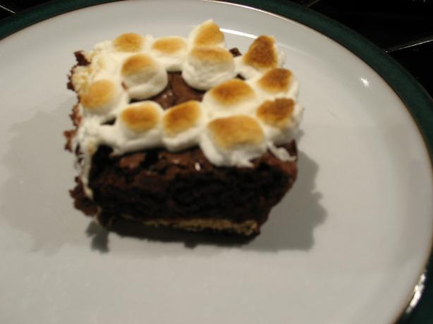 S'mores Brownie Squares