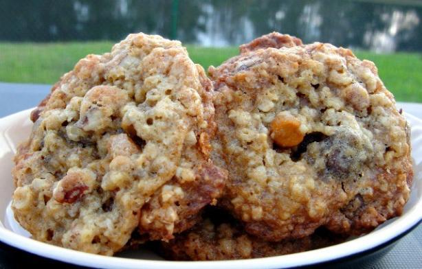 Big Oatmeal Chocolate Chip Cookies