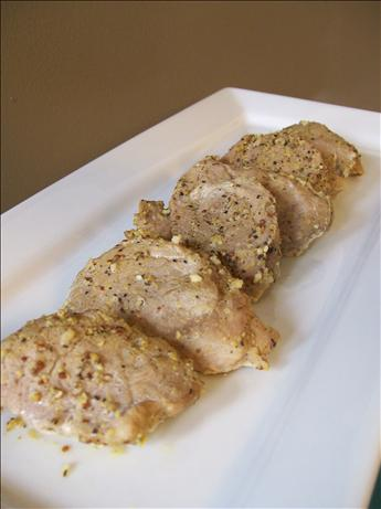 Pork Tenderloin with Lemon Mustard Sauce - WW 5 Points