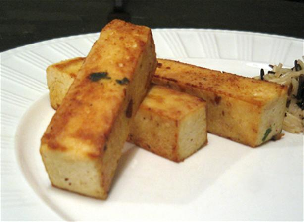 Pan-Grilled Marinated Tofu With Two Variations